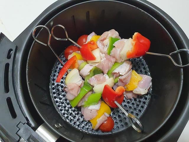 氣炸鍋日式雞肉串意大利麵