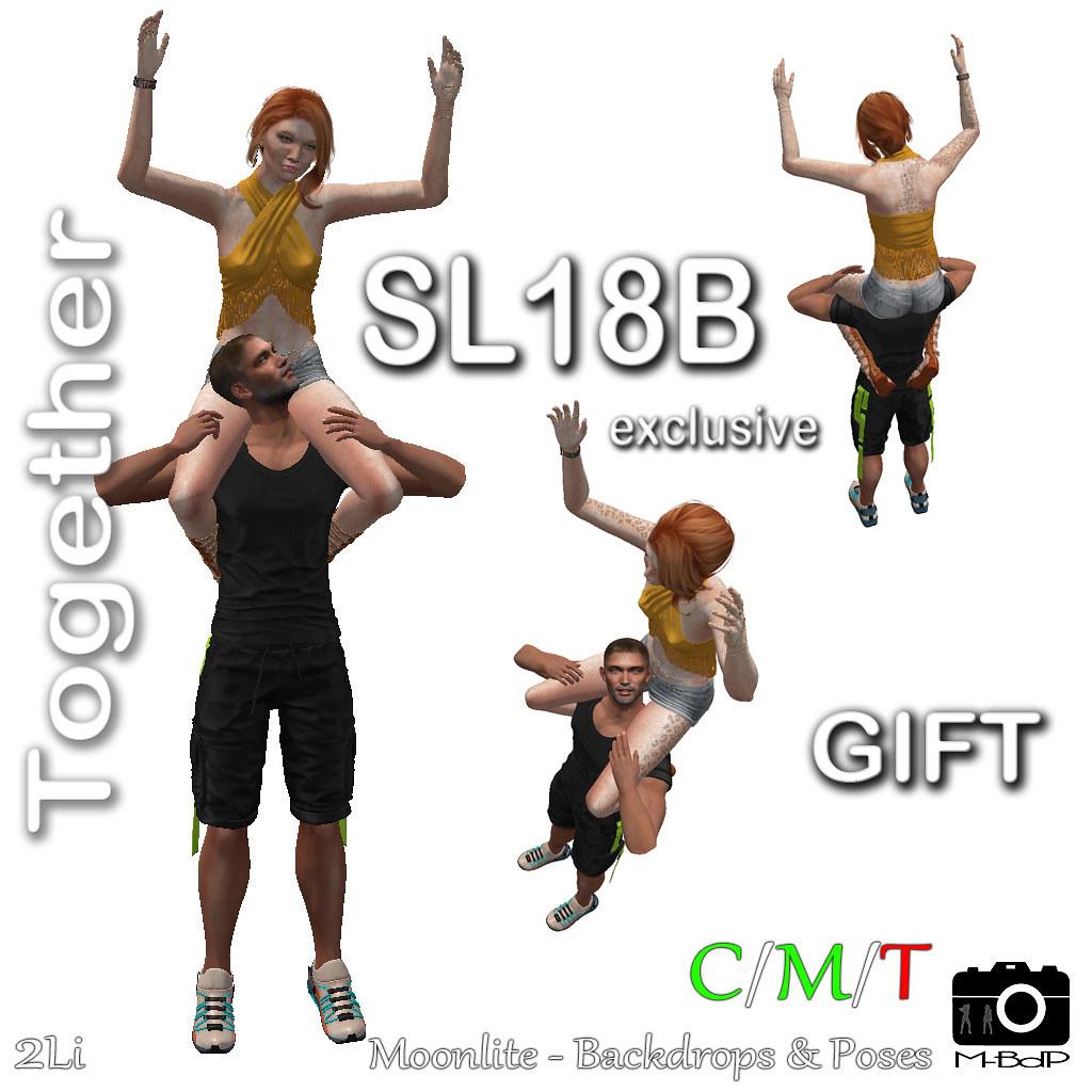 M-BdP :: SL18B Shop&Hop Event – Free Gift