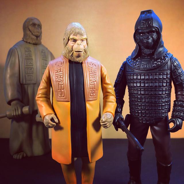Zaius and Ursus