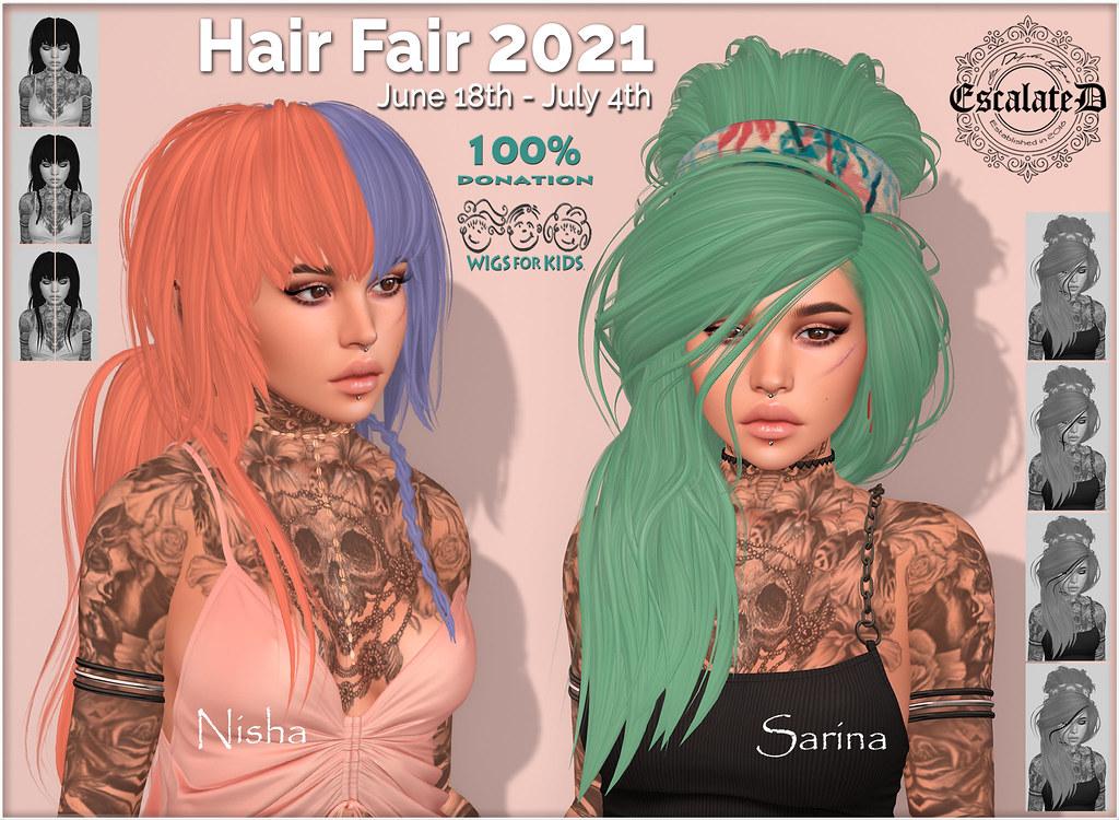 .EscalateD. | Hair Fair 2021