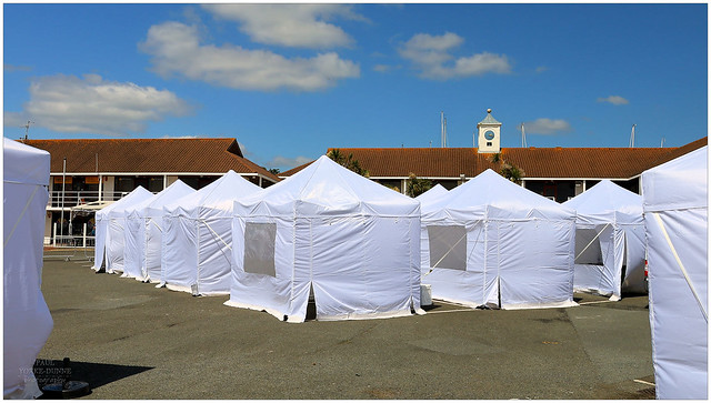 A tents situation!