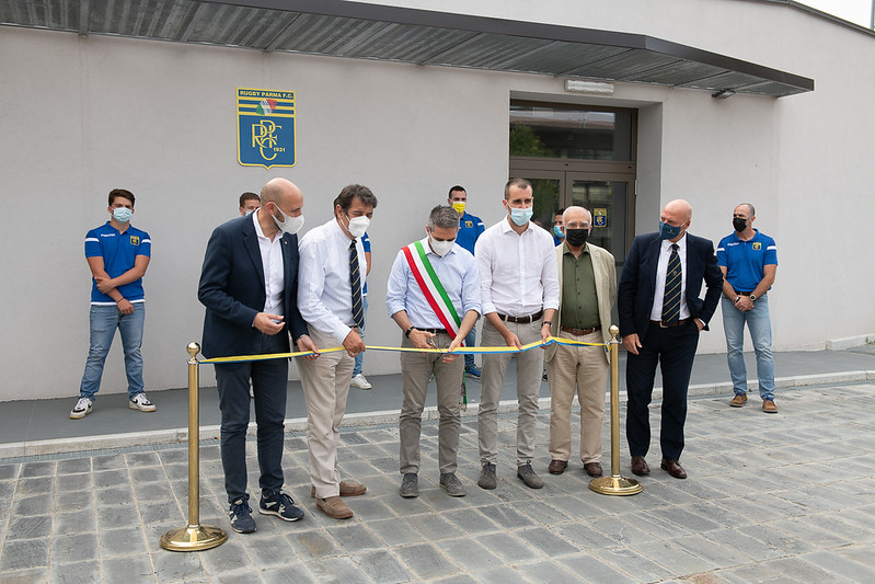 Inaugurazione sala pesi - 16.06.21 (Foto Sicuri)