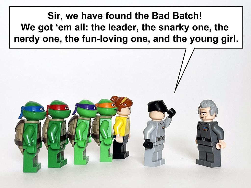 Teenage Mutant Clone Troopers