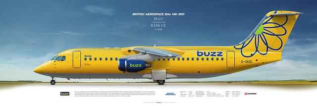British Aerospace BAe 146-300 Buzz