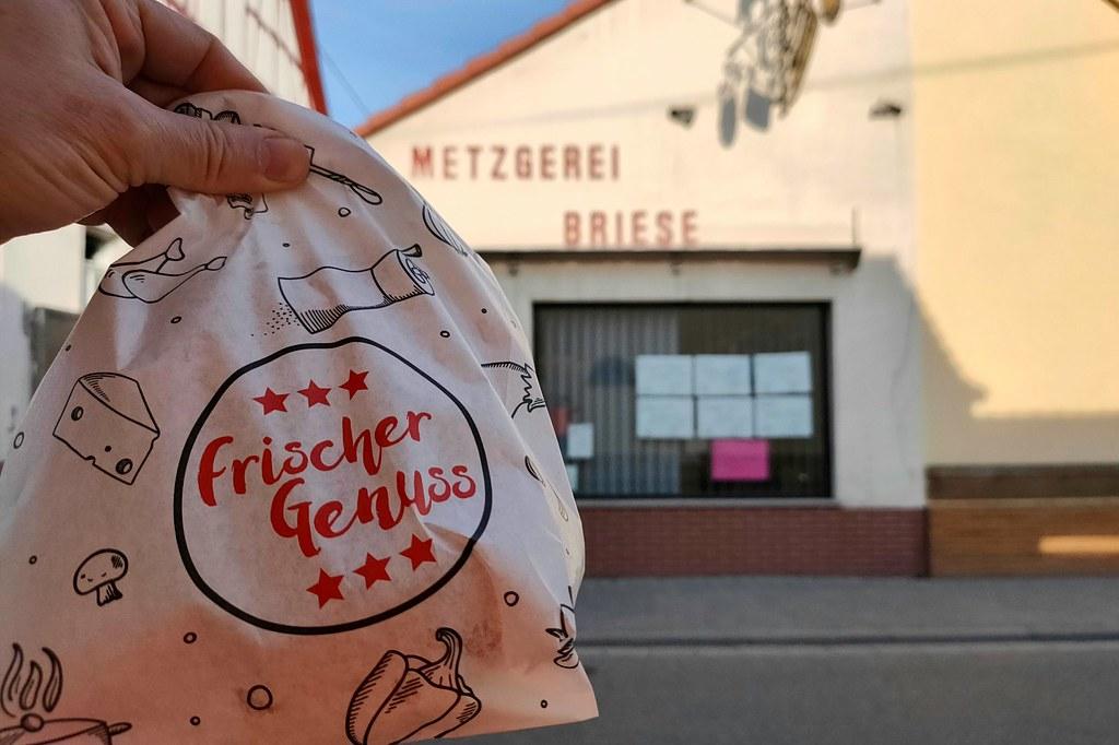 Verpflegungsstation Metzgerei Briese (Bachstraße 51, 67577 Alsheim)