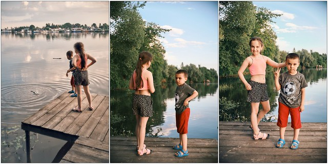 One weekend on the Moskva River