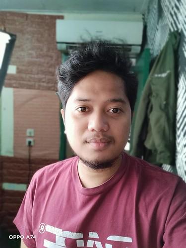 Kamera Selfie Oppo A74