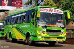 KA19AC9579, Sri Navadurga Prasad Viking BSIV Shakti Karur built, Mangalore Udupi Manipal Express