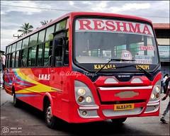 KA20D9178, Reshma Tata Ultra Sri Chakra coach built, Karkala Udupi Express