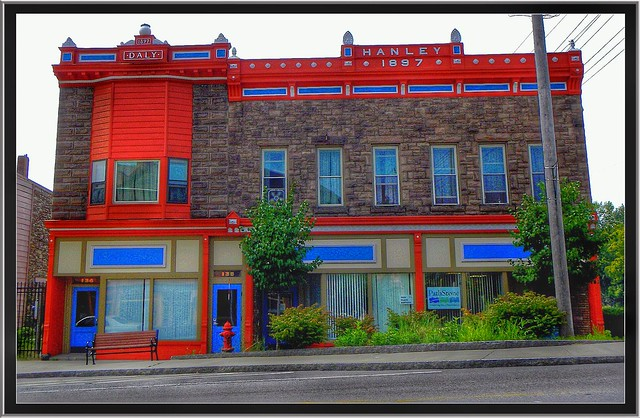 Albion - New York - Commercial Buildings - Daly and Hanley  - 1897 - Historic District