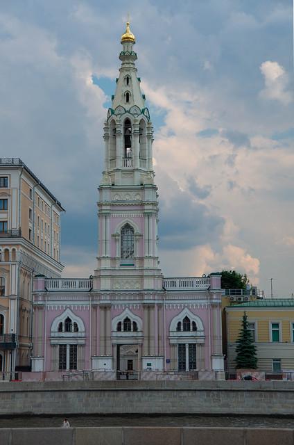 Belltower of Saint Sophia Church in Middle Sadovniki