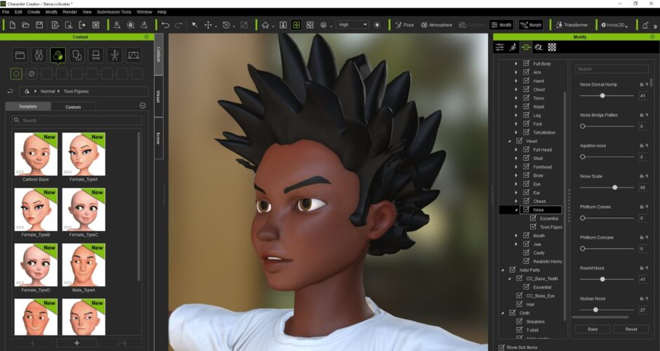 Working with Reallusion Character Creator 3.4.3924 full