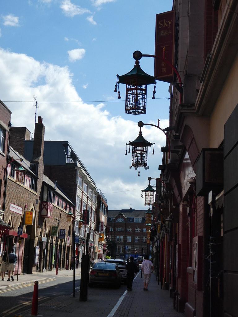 Lanterns on Stowell Street, Newcastle