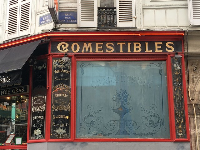 Ancienne Charcuterie - Rue des trois frères, Paris XVIIIe