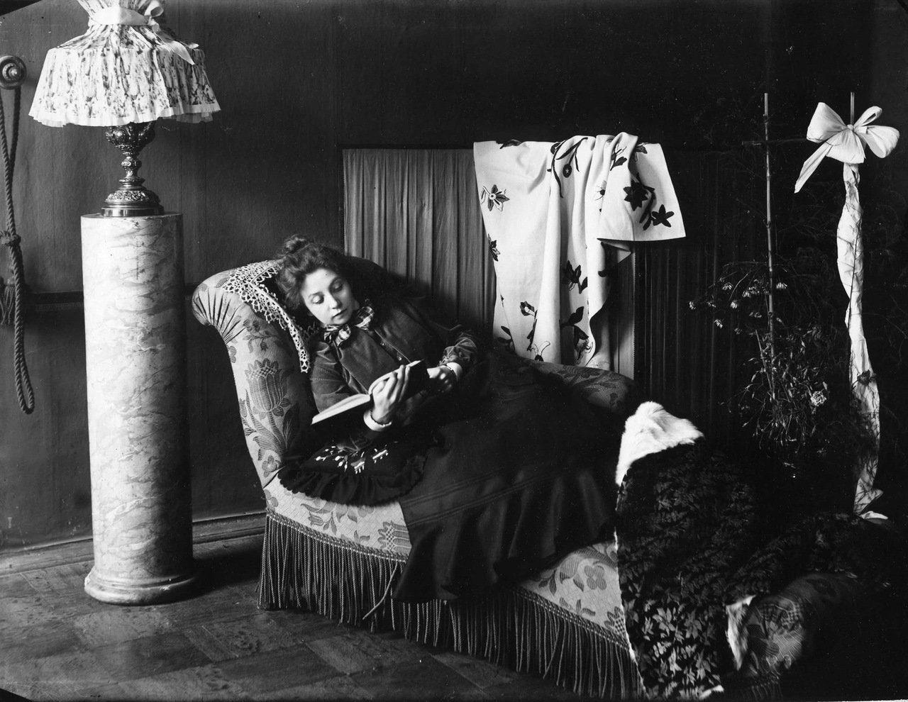 1908. Актриса Вера Комиссаржевская.