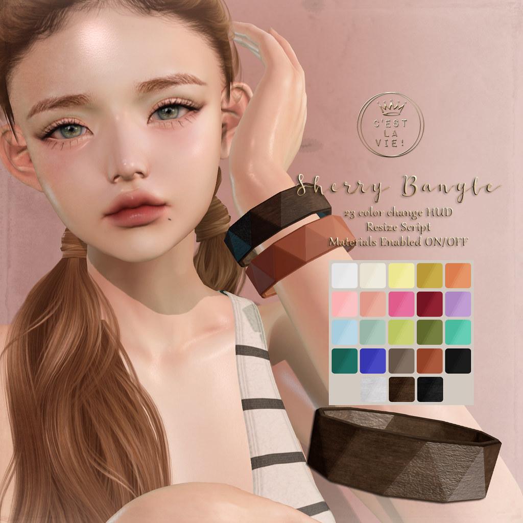 ::C'est la vie !:: Sherry Bangle GIFT @SL18B Shop and Hop