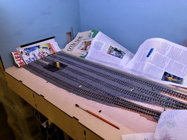 Ballasting has started!!