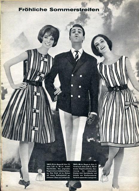 magazine - beyer - aprile 1961 - moda
