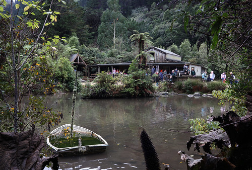 <p>Across the pond at Staglands. Was a school trip when I first got there.<br /> <br /> Staglands is a beautiful spot in the middle of the Akatarawas in Upper Hutt. Lots of wildlife and a cafe.</p>