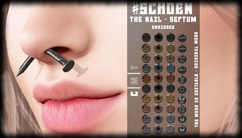 #SCHOEN – The Nail – Septum –