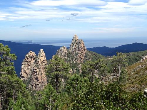 Monte Bracciutu depuis le GR20