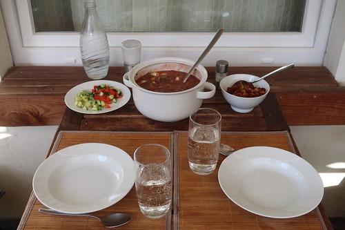 Gazpacho (Tischbild)