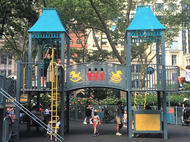 At the Police Officer Moira Ann Smith Playground