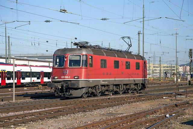 SBB Re 6/6 620 056 Basel Badischer Bahnhof