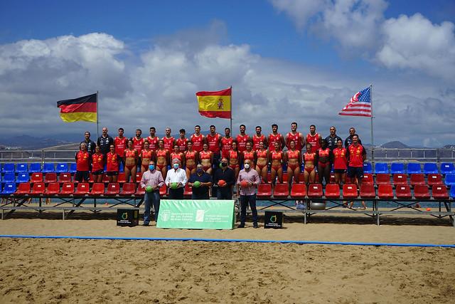 Balonmano playa | Torneo Internacional de España