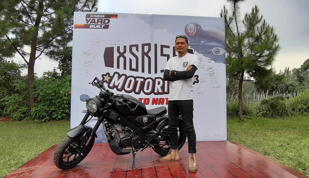 Jopie Thedestrians, konsumen XSR 155 dan Ketua Umum XSR Brotherhood Indonesia (XBI) Bandung
