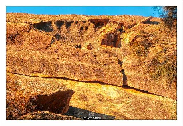 Rock Features, Wave Rock, Hyden, Western Australia