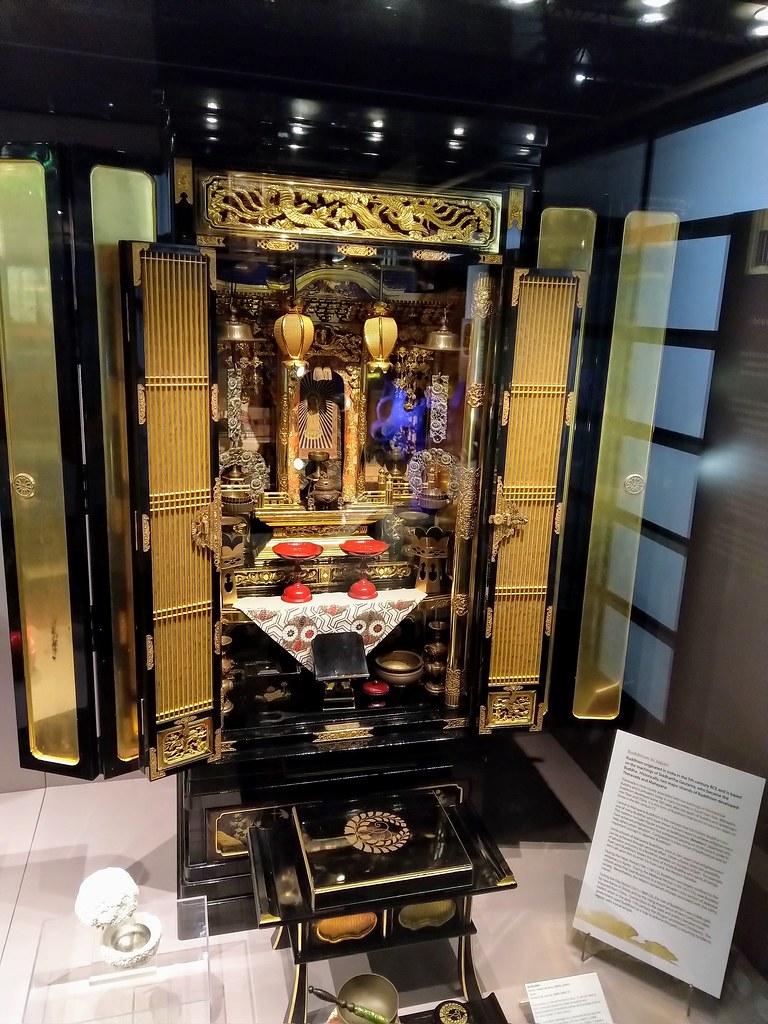 Buddhism in Japan at Oriental Museum, Durham