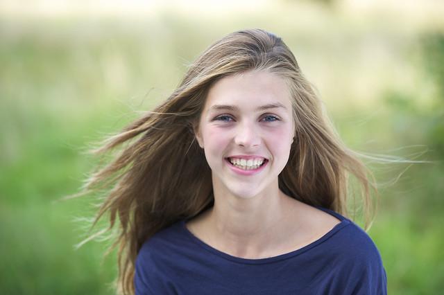 Teenage-girl-smiling