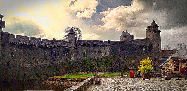 Fougères, Bretagne.