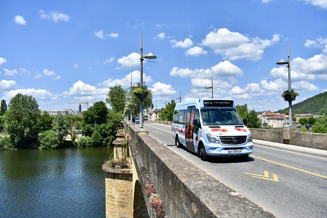 Cahors - Mercedes-Benz Sprinter City35 - 10/06/21