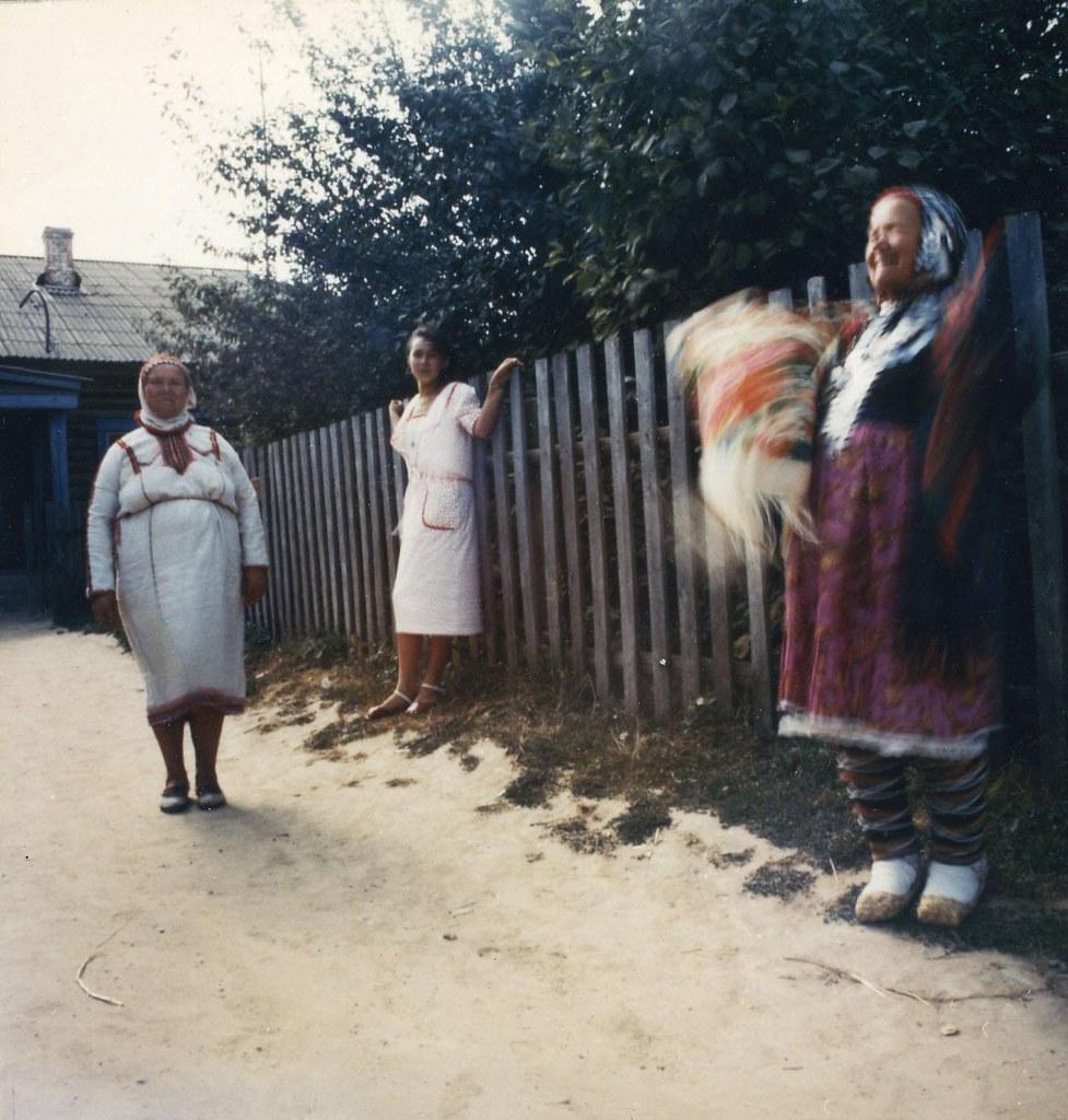 1992. Республика Марий Эл, дер. Шереганово