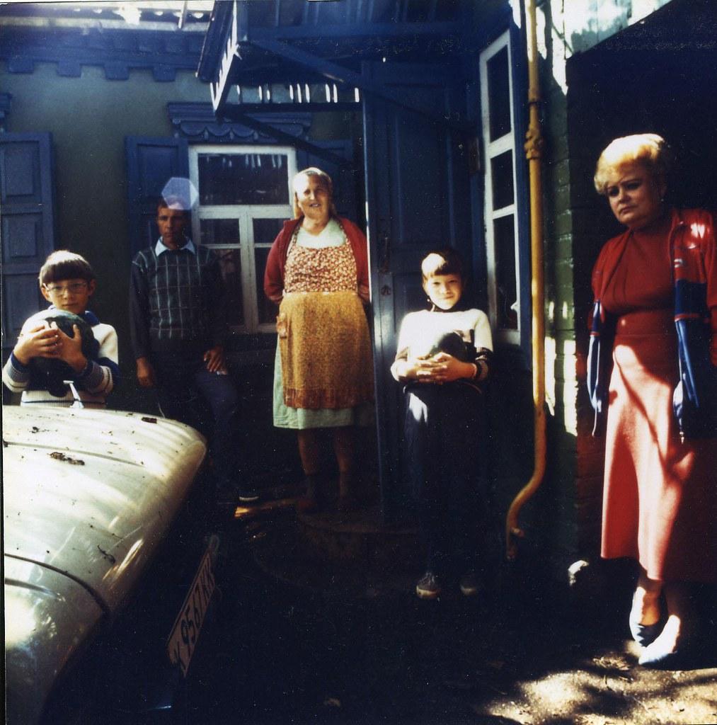 1991. Краснодарский край, г. Усть-Лабинск