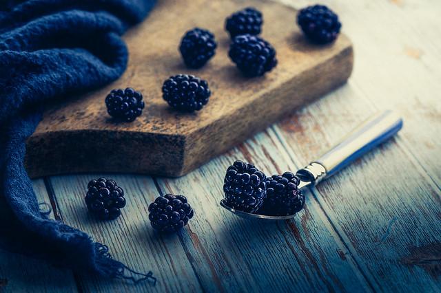 Blackberries Still Life
