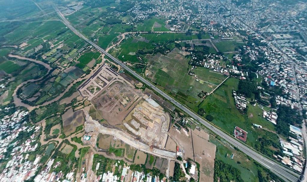 Hình ảnh flycam thực tế tại iD Junction