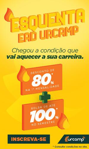 Esquenta EAD Urcamp - A condição que vai aquecer sua carreira! CLIQUE AQUI!