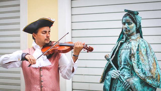 Estátuas Vivas Barrocas  -  Pombal  -  n8406