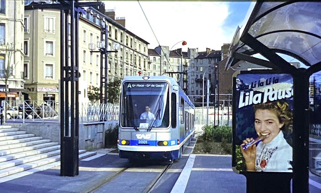 New tram, new chocolate bar