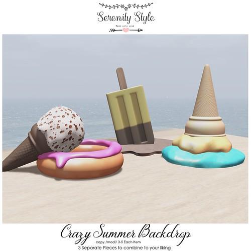 Serenity Style- Crazy Summer Backdrop
