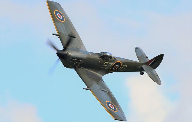 RAF Supermarine Spitfire MkXVI TE311 SZ-G BBMF