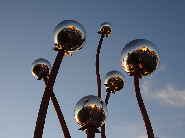 Silver Balls in the Sky