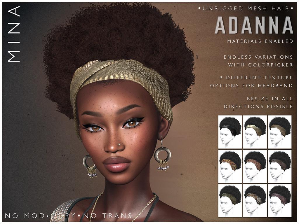 MINA Hair – Adanna – Hair Fair 2021