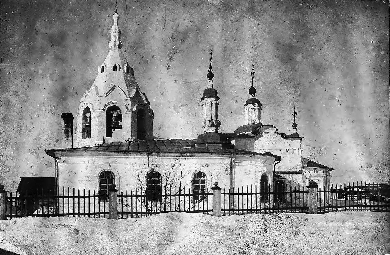 Церковь в селе Чадобец (Чадобское) Богучанской волости Енисейского уезда