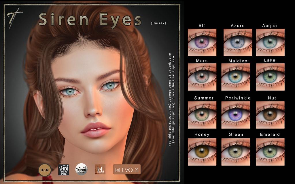 Tville – Siren Eyes