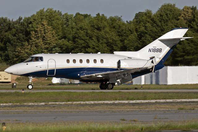 N188B - Hawker 850XP - KPDK - June 2021