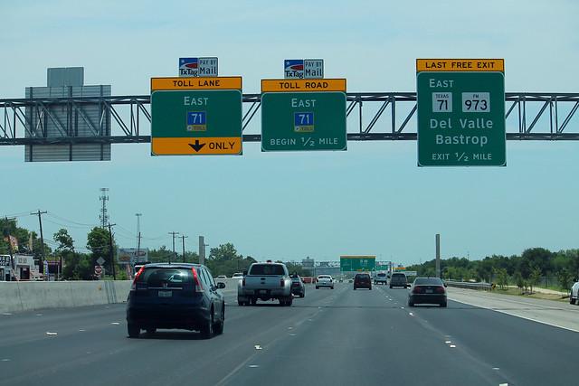 TX71 East - Half Mile to FM973
